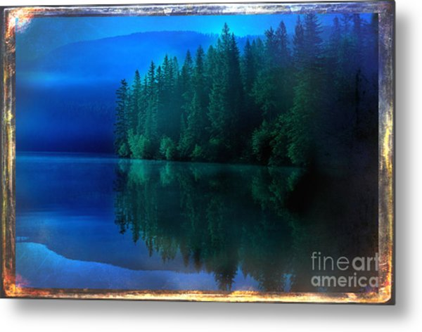 Summertime Blues Metal Print by The Stone Age