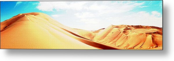 Sun In The Sands Metal Print by Peter Waters