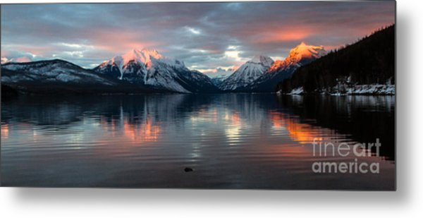 Metal Print featuring the photograph Sun Kissed 2  Pano Crop by Katie LaSalle-Lowery