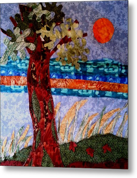 Sun Over Arbutus Work In Progress Metal Print