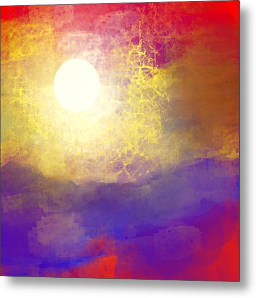 Sun Over The Canyon Metal Print by Jessica Wright