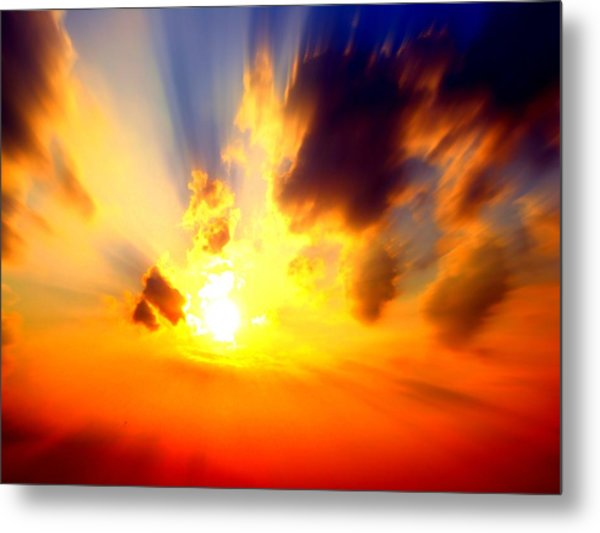 Sun Rays Metal Print by Jose Lopez