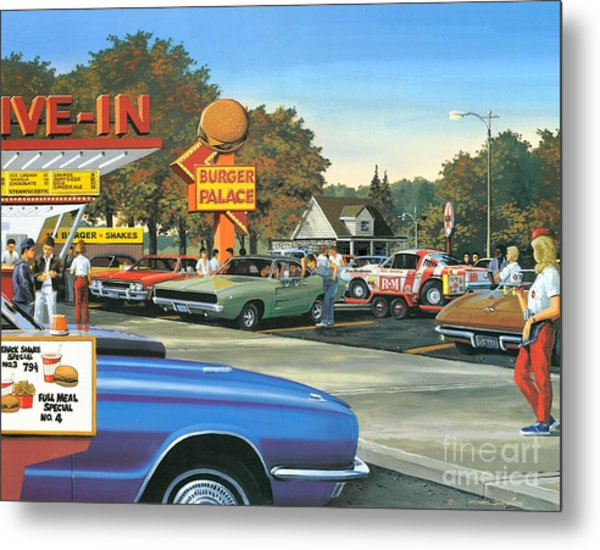 Sunday After The Races Metal Print by Michael Swanson