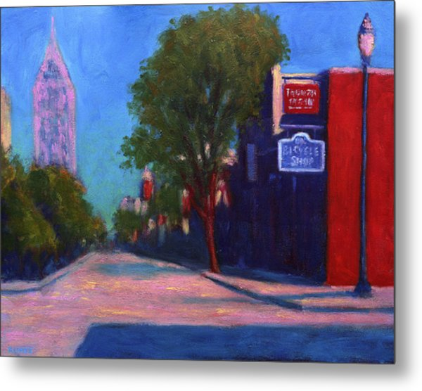 Sunday Morning On Dauphin Metal Print