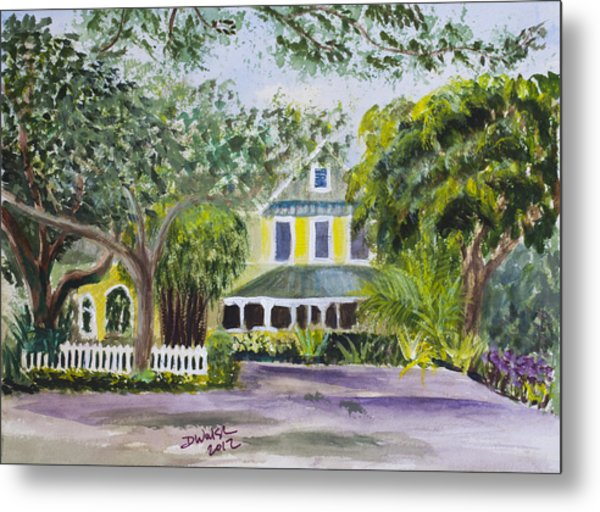 Sundy House In Delray Beach Metal Print