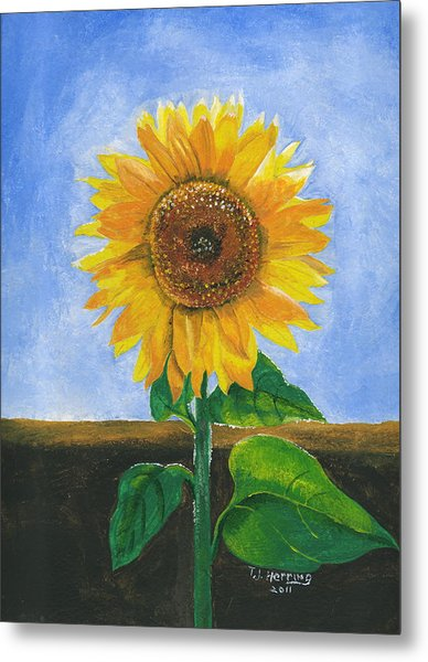 Sunflower Series Two Metal Print