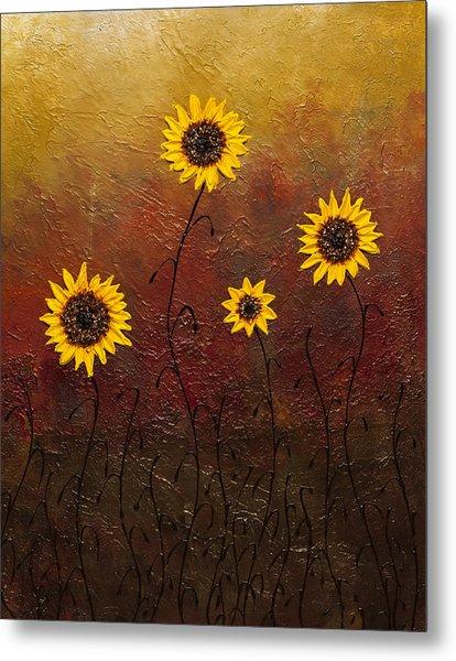 Sunflowers 3 Metal Print