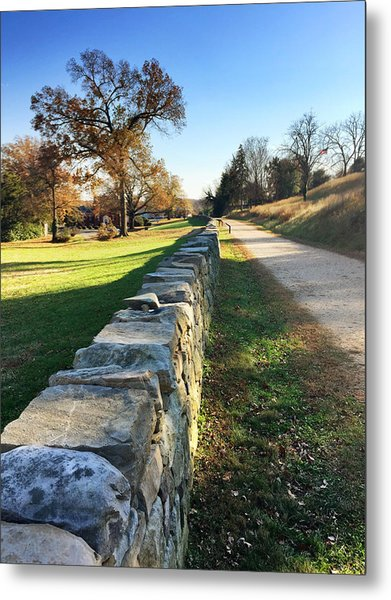 Sunken Road Metal Print