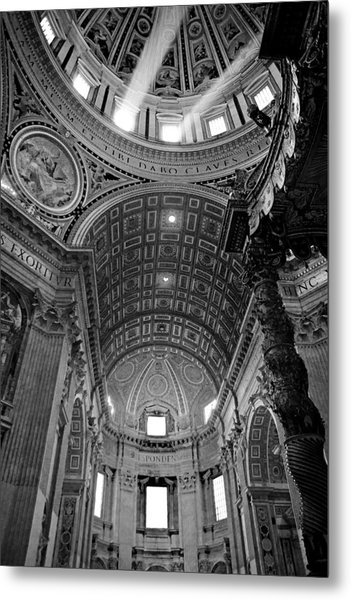 Sunlight In St. Peter's Metal Print
