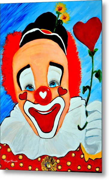 Sunny The Clown......... Metal Print
