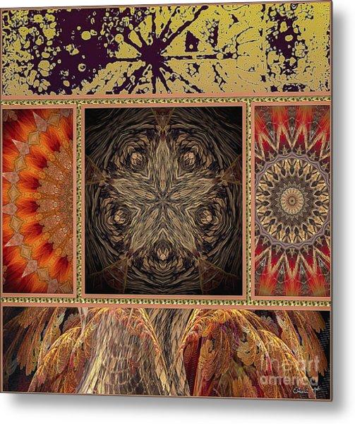 Metal Print featuring the digital art Sunrays by Eleni Mac Synodinos