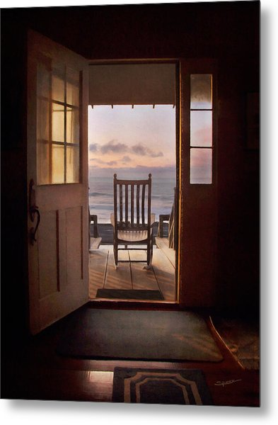 Sunrise- A Front Row Seat Metal Print