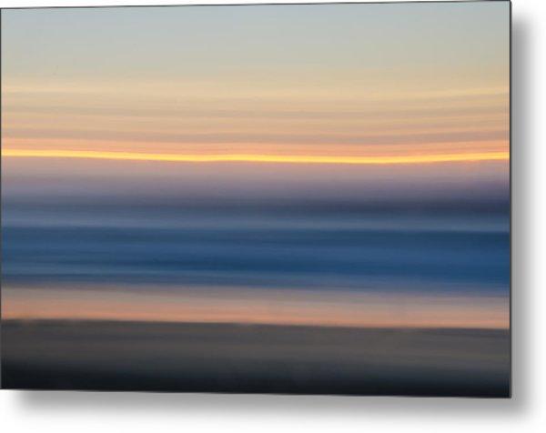 Sunrise Abstract Metal Print