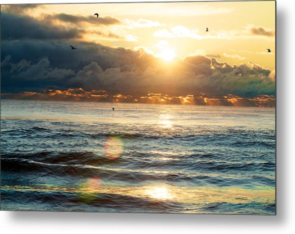 Sunrise After The Storm Metal Print