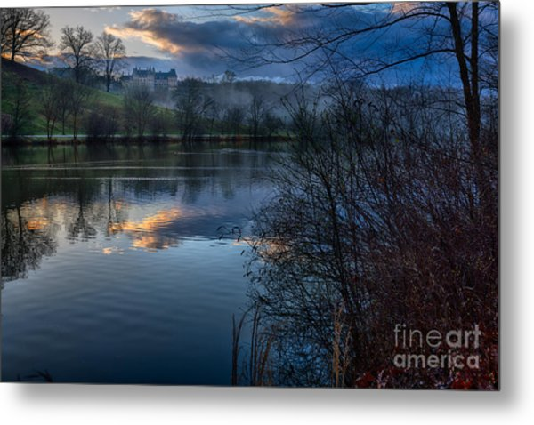 Sunrise At  Biltmore Estate Metal Print