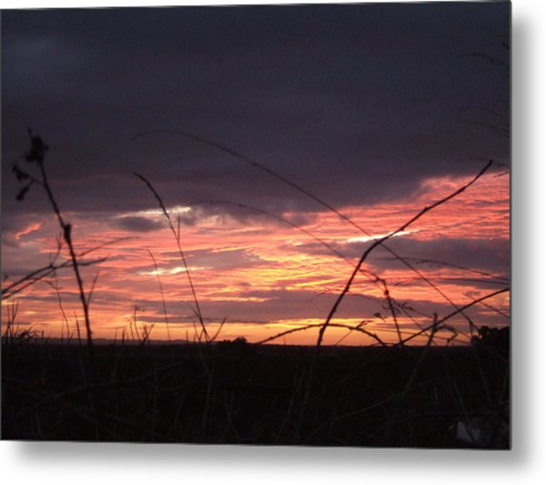 Sunrise At Boroughbridge Metal Print