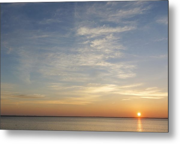 Metal Print featuring the photograph Sunrise At Cheyenne Bottoms by Rob Graham