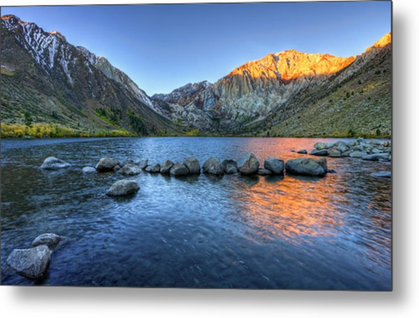 Sunrise At Convict Lake Metal Print