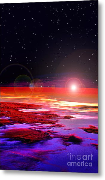Sunrise At Fourty Thousand  Metal Print