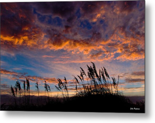 Sunrise At Hatteras Metal Print by John Pagliuca
