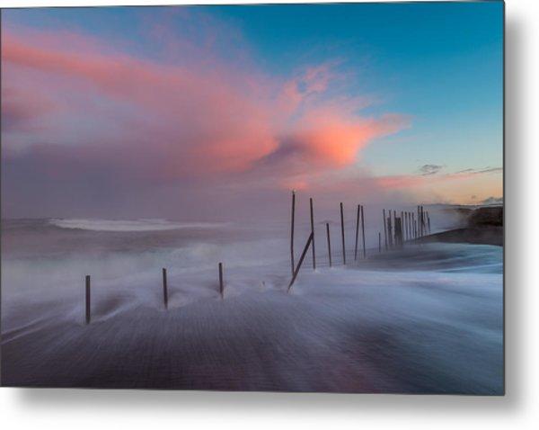 Sunrise At Mackerricher Metal Print by Mike  Walker