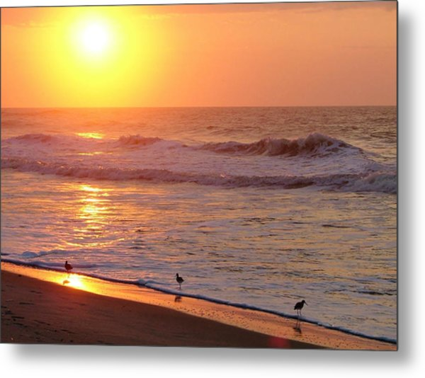Sunrise At Ocean Isle Metal Print