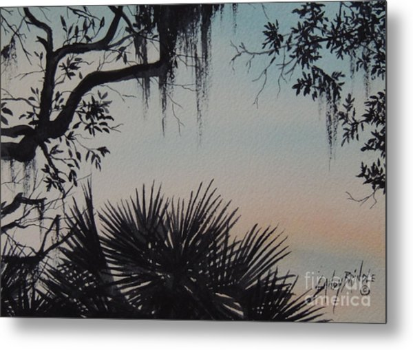 Sunrise At Shellmans Bluff Metal Print