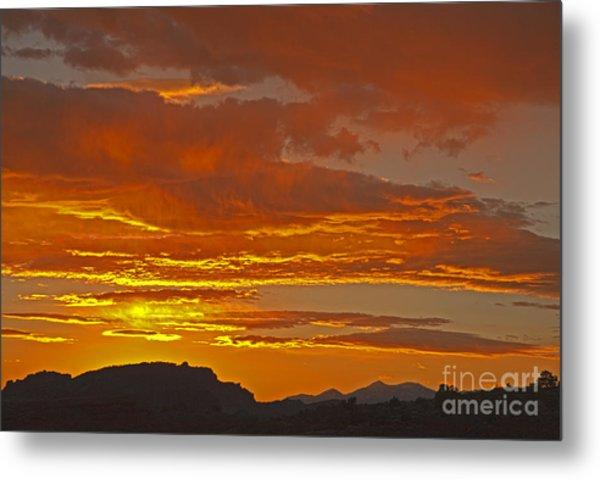 Sunrise Capitol Reef National Park Metal Print