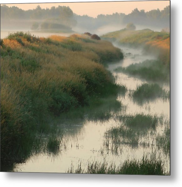 Sunrise Creek Metal Print