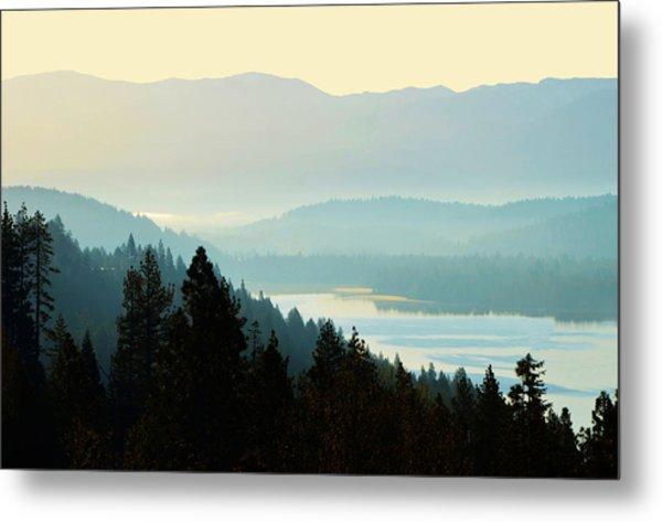 Sunrise Donner Lake California Metal Print