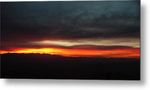 Sunrise From The Rim 002 Metal Print