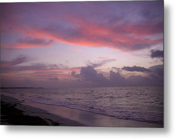 Sunrise In Riviera Maya Metal Print by Dave Dos Santos