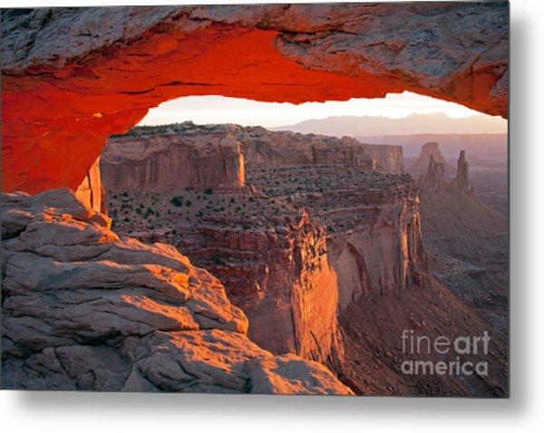 Sunrise Mesa Arch Canyonlands National Park Metal Print