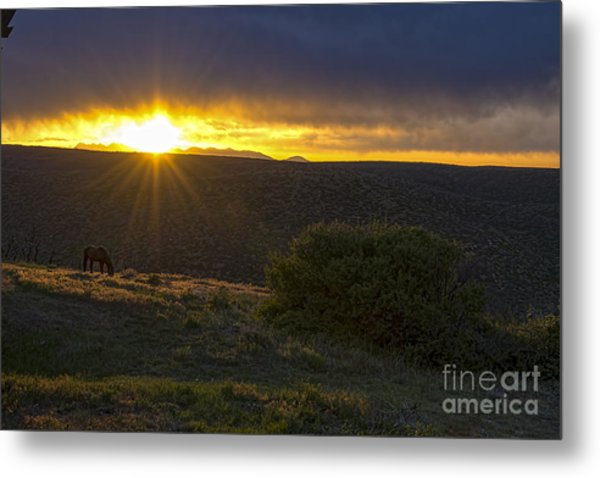 Sunrise Mesa Verde Metal Print by Keith Ducker