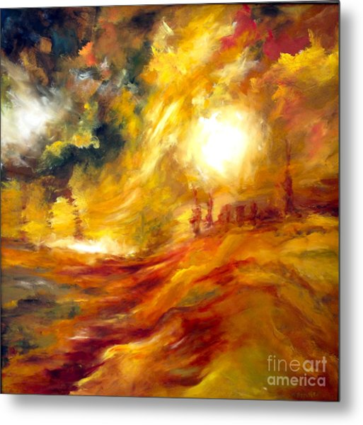 Sunrise Metal Print by Michelle Dommer