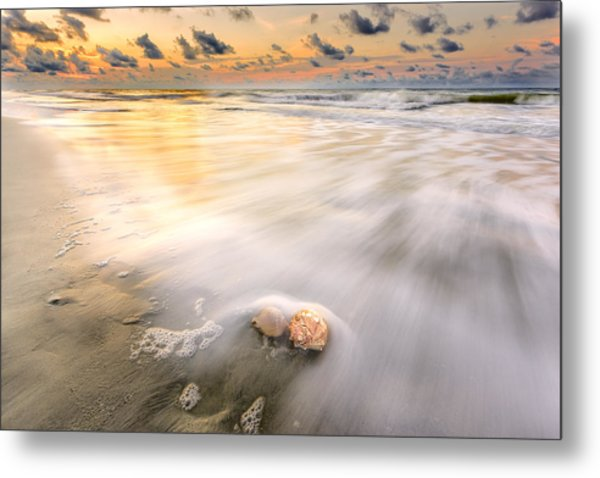Sunrise On Hilton Head Island Metal Print