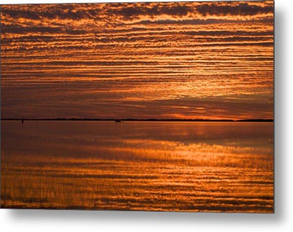 Sunrise On Ramrod Key Metal Print