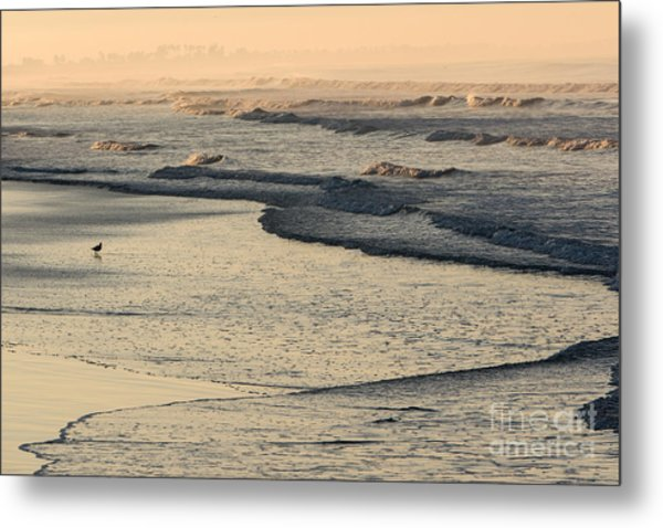 Sunrise On The Ocean Metal Print