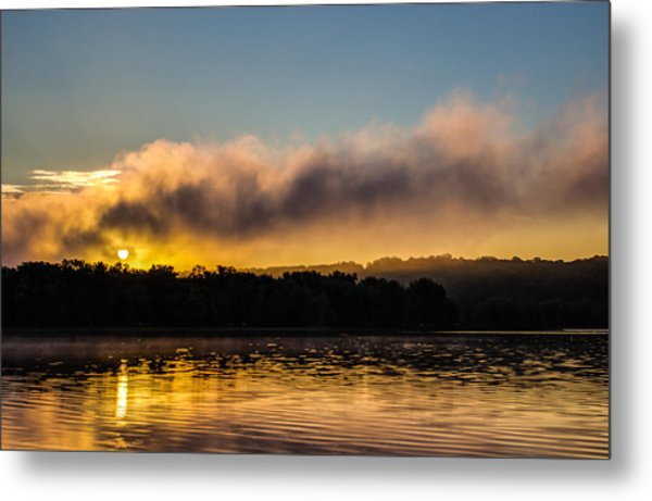 Sunrise On The St. Croix Metal Print