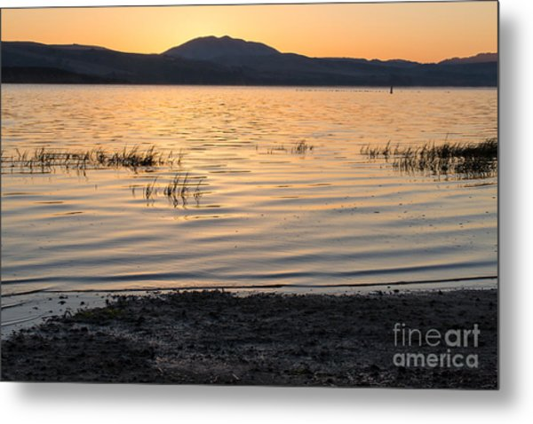 Sunrise On Tomales Bay - 262 Metal Print by Stephen Parker