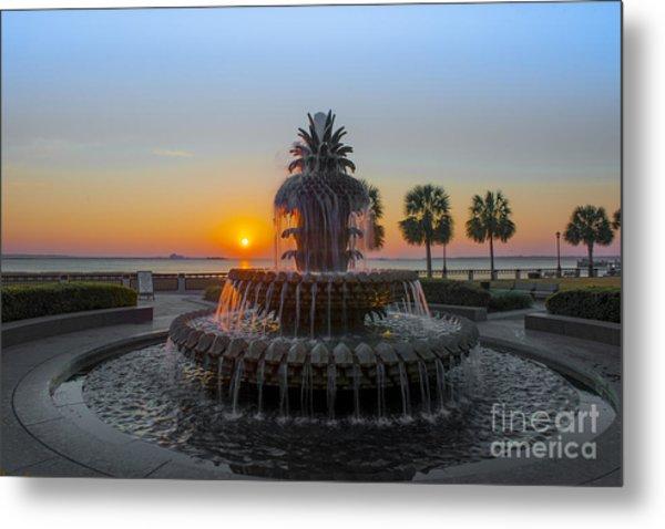 Sunrise Over Charleston Metal Print