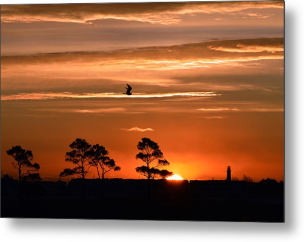 Sunrise Over Fenwick Island Metal Print