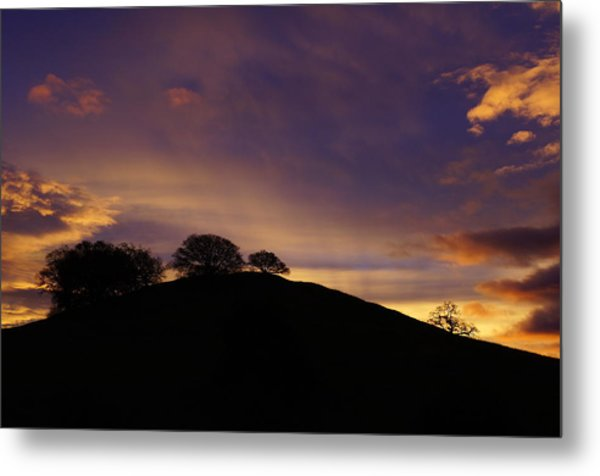 Sunrise Over Hidden Lakes Park Metal Print by Colleen Renshaw