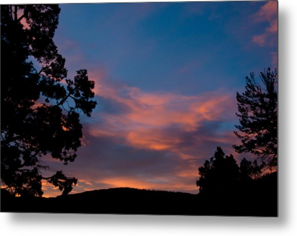 Sunrise Over Mammoth Campground Metal Print