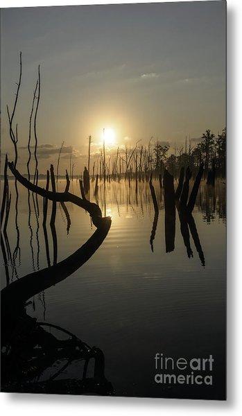 Sunrise Over Manasquan Reservoir II Metal Print