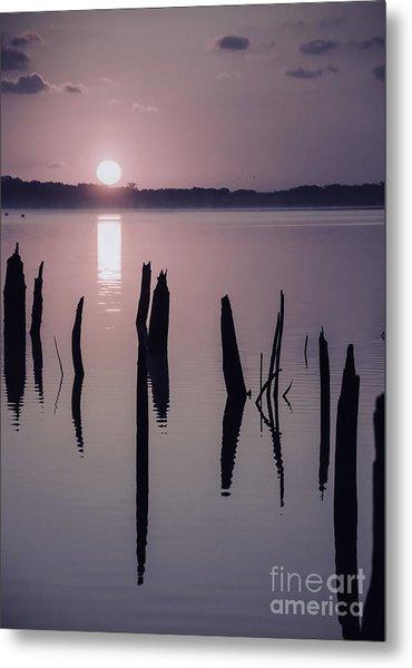 Sunrise Over Manasquan Reservoir Iv Metal Print