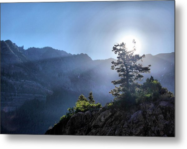 Sunrise Over Ouray Metal Print