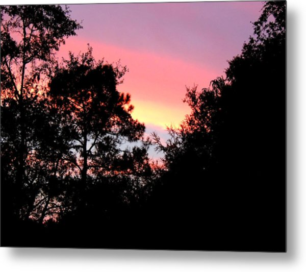 Sunrise Over Perry Metal Print