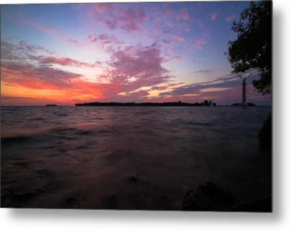 Sunrise Over South Bass Island Metal Print