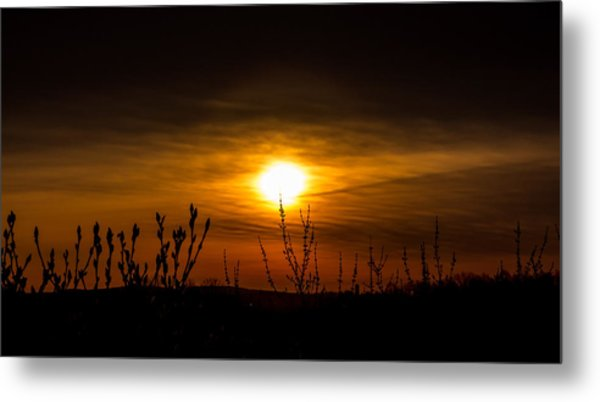 Daybreak At Gettysburg Metal Print